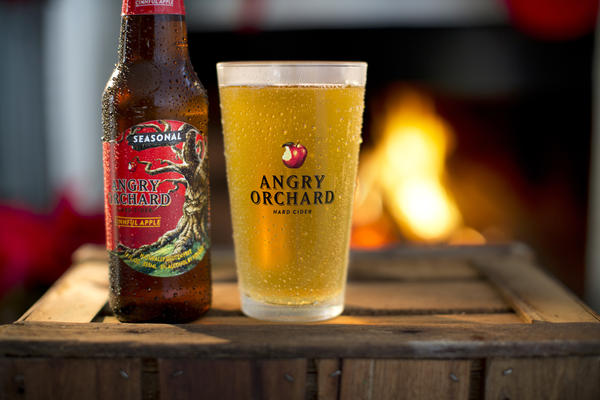 Angry Orchard at The Hangar Bar San Antonio