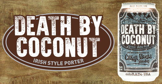 Oskar Blues Death By Coconut Porter at The Hangar Bar San Antonio