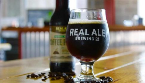 Real Ale Coffee Porter at The Hangar Bar San Antonio